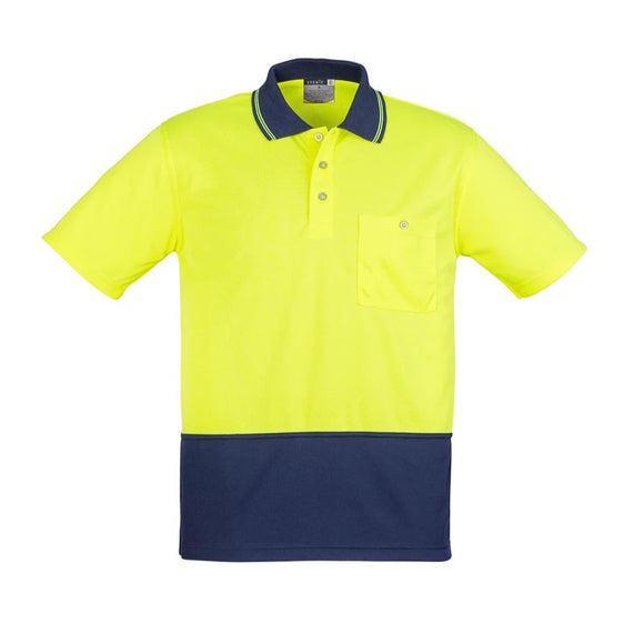 Syzmik Zh231 - Unisex Hi Vis Basic Spliced Polo - Short Sleeve