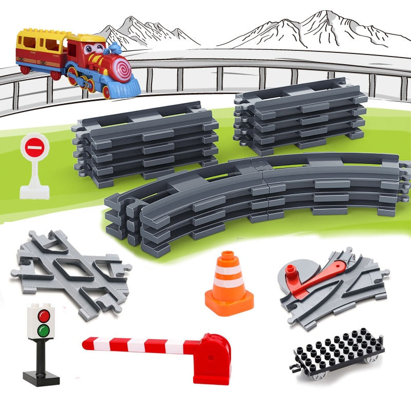 Big Building Blocks Track Set