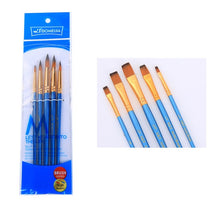Load image into Gallery viewer, 5Pcs Nylon Paint Brush Set