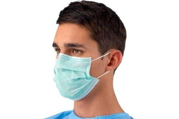 How to wear a non-medical fabric mask safely
