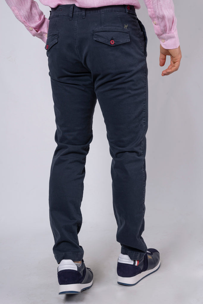 Pantalón Chino Botton Club Marino