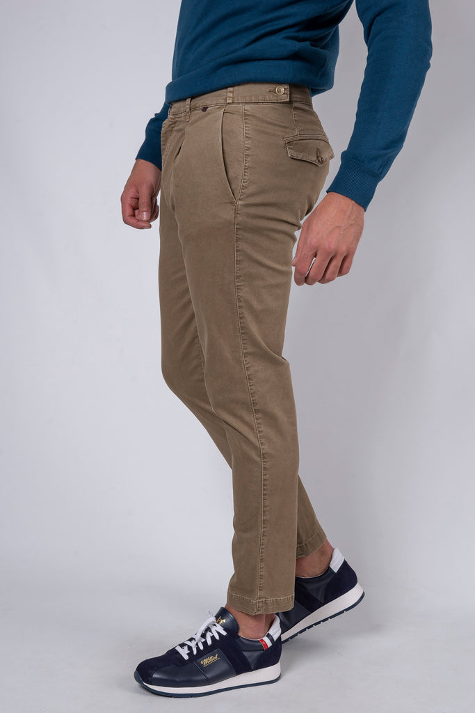 Pantalón Chino Botton Club Tostado
