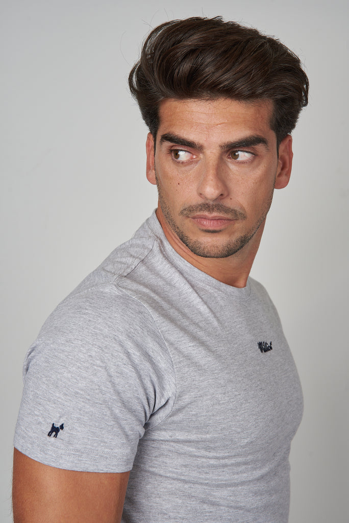 Camiseta Williot Gris Claro