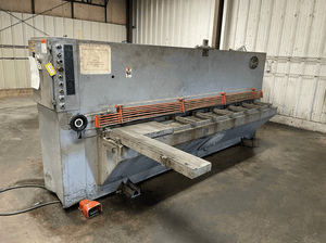 "10' x 1/4"" Atlantic CostCutter Hydraulic Shear, Stock 1170"