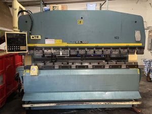 110 Ton Amada RG-100 CNC Press Brake, Stock 1153