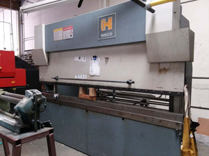 120 Ton x 10' Haco Hydraulic CNC Press Brake, Stock 1143