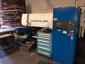 20 Ton Trumpf Trumatic 200 CNC Turret Punch, Stock 1134
