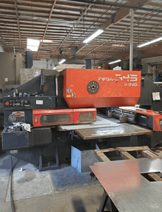 33 Ton Amada Pega 345 King CNC Turret Punch, Stock 1169