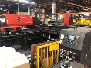 33 Ton Amada Pega 345 Queen CNC Turret Punch, Stock 1156