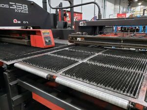 33 Ton Amada Vipros 358 King II CNC Turret Punch, Stock 1008