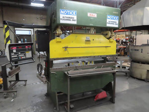35 Ton x 6' DiAcro 14-72 Hydra-Mechanical CNC Press Brake, Stock 1160