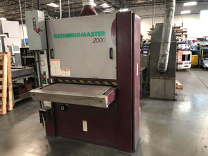 "36"" Grindingmaster 2000 Single Head Belt Sander (Dry), Stock 1002"