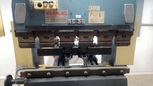 38 Ton Amada RG-35S CNC Press Brake, Stock 1148