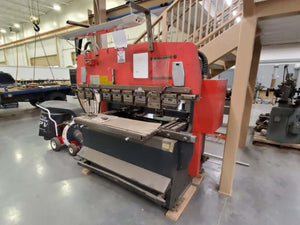 55 Ton Amada RG-50 Press Brake, Stock 1163