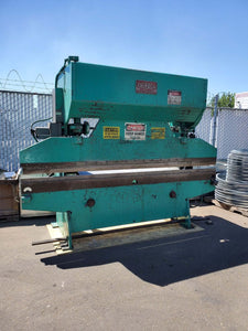"55 Ton x 10'6"" Chicago 68-B Mechanical Press Brake, Stock 1142"