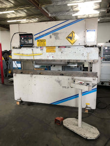60 Ton x 8' Wysong MTH-6096 Hydraulic CNC Press Brake, Stock 1146