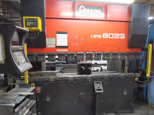 88 Ton Amada HFB-8025 CNC Press Brake, Stock 1158