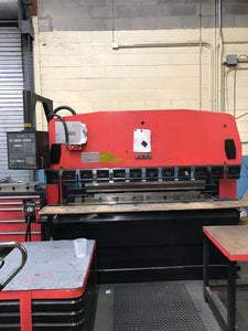 88 Ton Amada RG-80 CNC Press Brake, Stock 1121