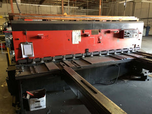 "10' x 1/4"" Amada M-3060 Mechanical Shear, Stock 1130"