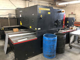 2000 Watt Amada Pulsar LC2415 CNC Co2 Laser Cutter, Stock 1136