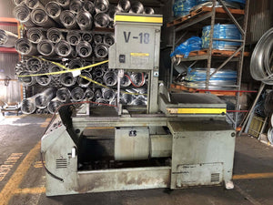 Hyd-Mech V-18 Vertical Band Saw, Stock 1111