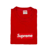 Supreme Red Box Logo Tee - Size M