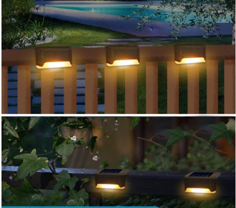 Solar Powered Stair Lights
