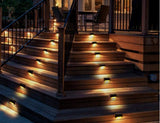 Amazing Solar Powered Stair Lights!