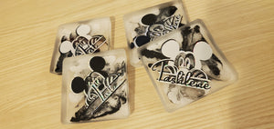 "When all else fails... go Mouse... ""Black, white and holographic Silver"