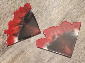 Create your own Agate slice coasters