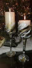 Load image into Gallery viewer, Custom Glass Candle holders