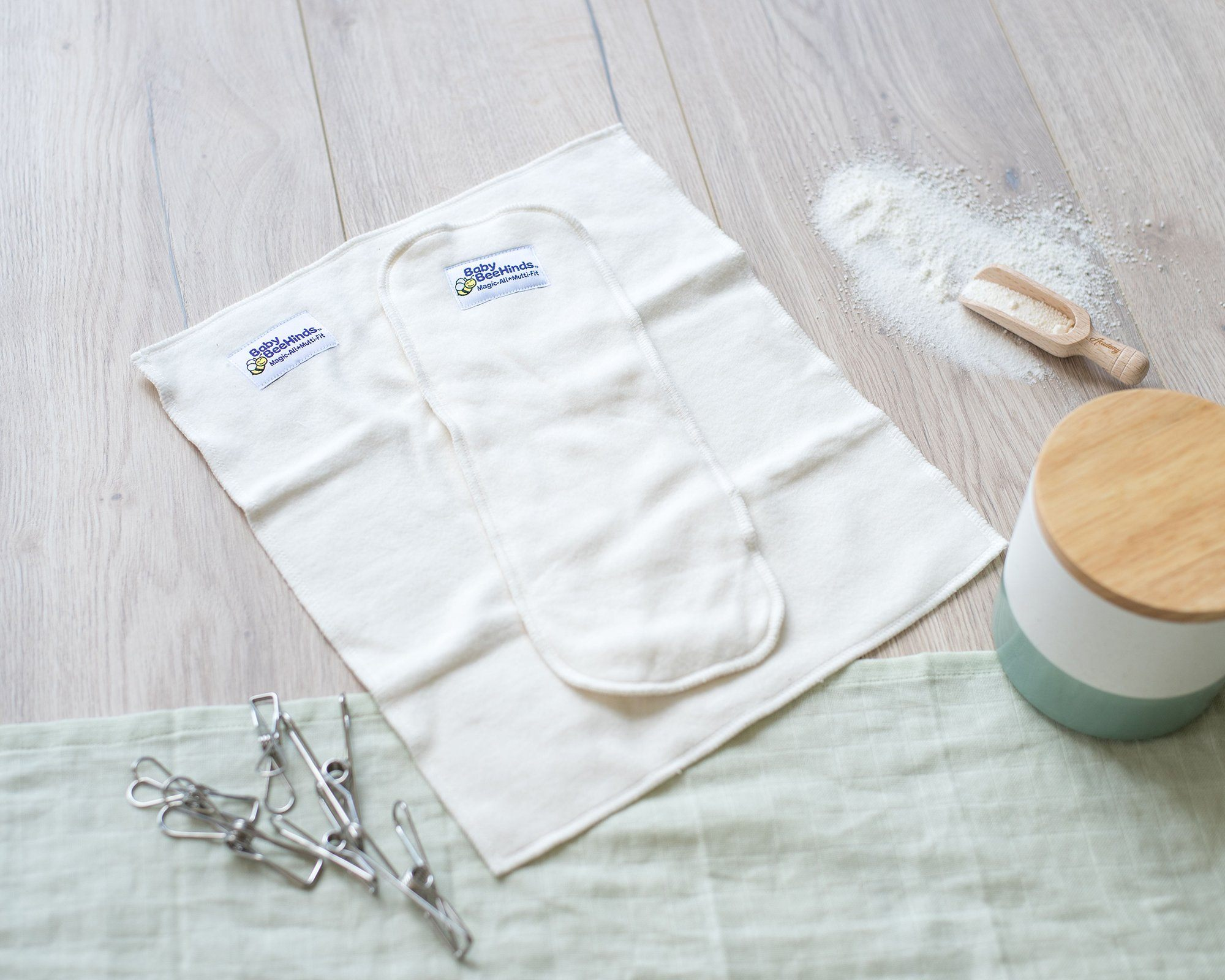Baby BeeHinds Bamboo Fold-Ups SHOP MODERN CLOTH NAPPY INSERTS