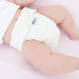 Baby BeeHinds Hemp Fitted Nappy HIRE FITTED MODERN CLOTH NAPPIES