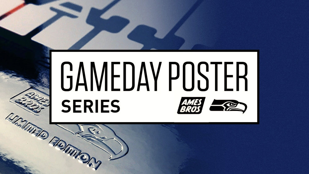 Seahawks Partner With Ames Bros To Design Gameday Poster Series