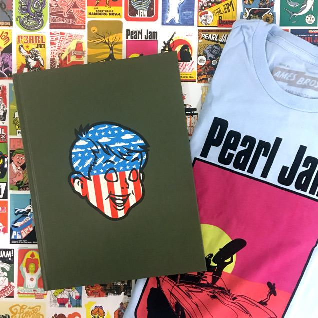 Pearl Jam Posters, T-Shirts and Collectibles