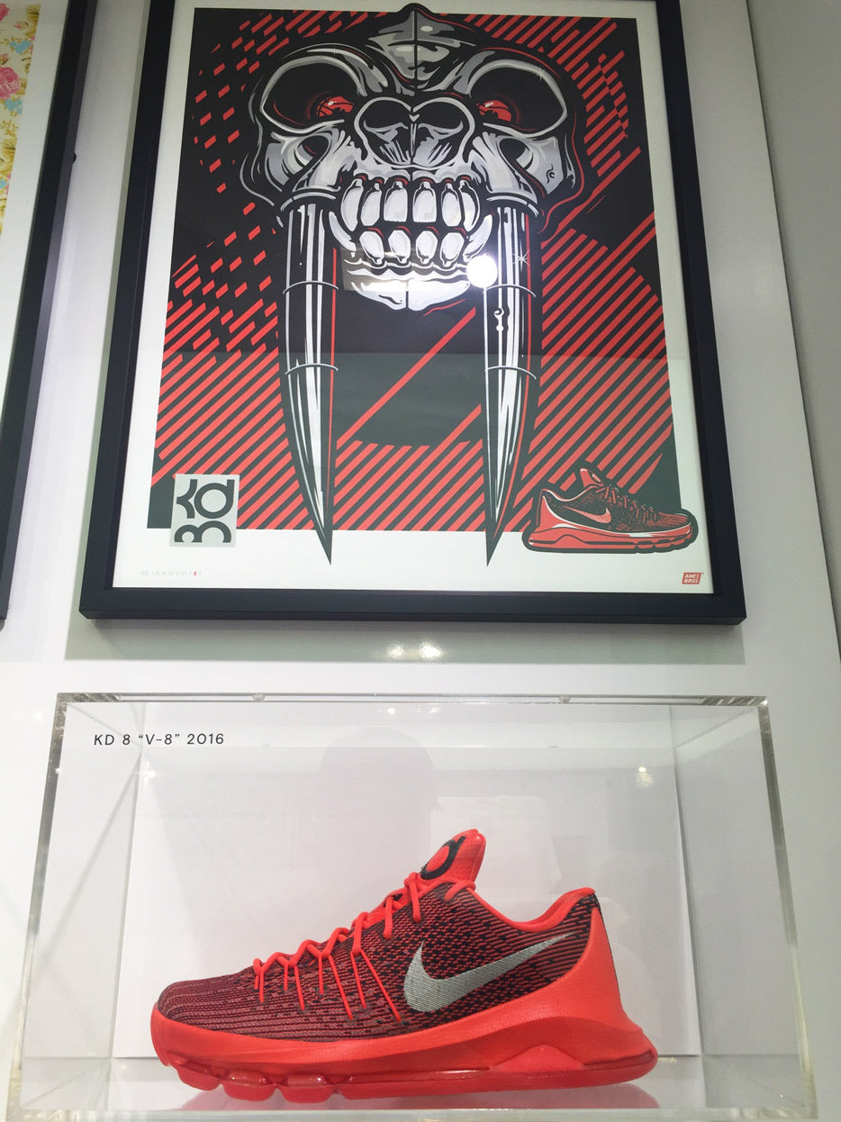 "KD 8 ""V-8"" Poster by Ames Bros"