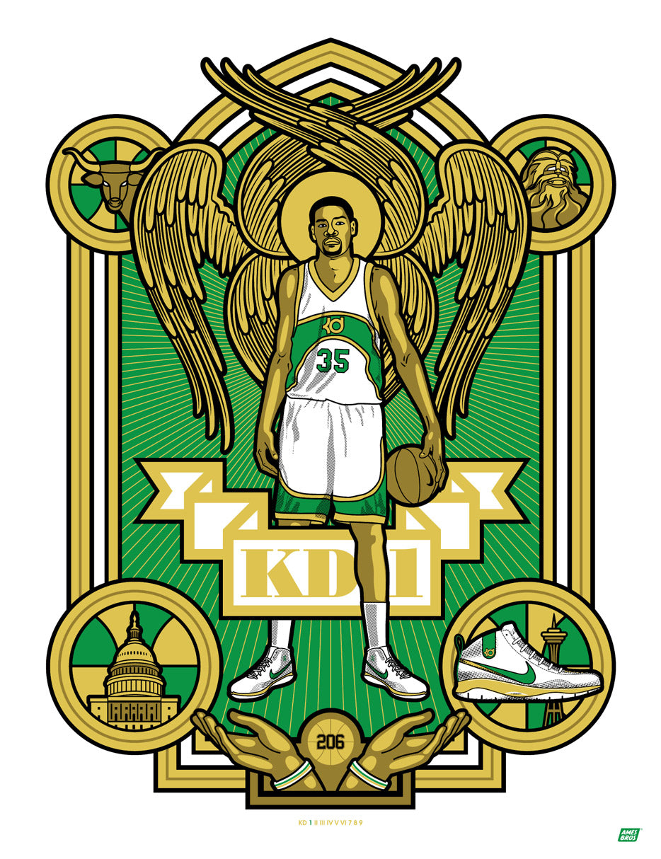 "KDI ""Sonics"" Poster by Ames Bros"