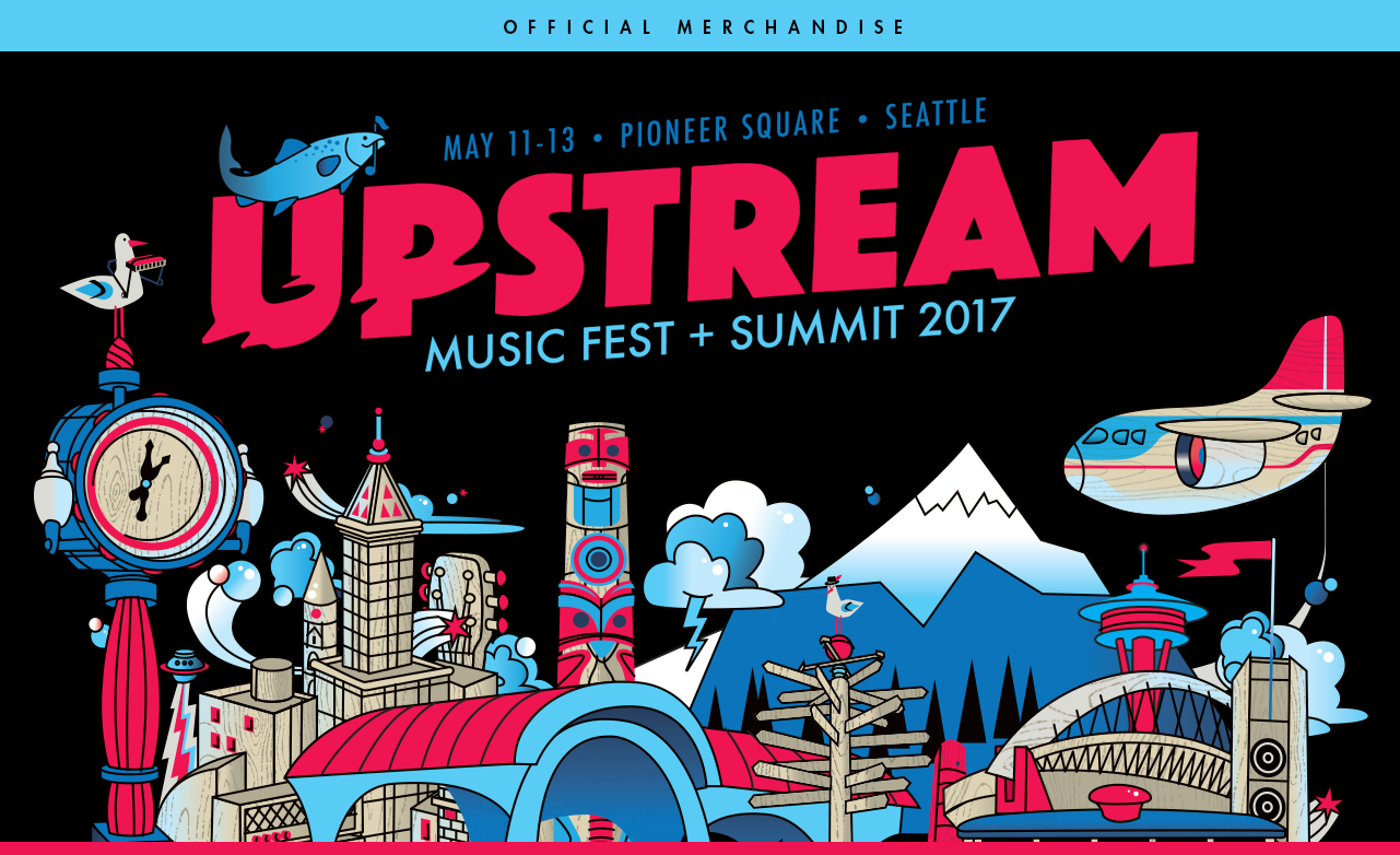 Upstream Music Festival Store