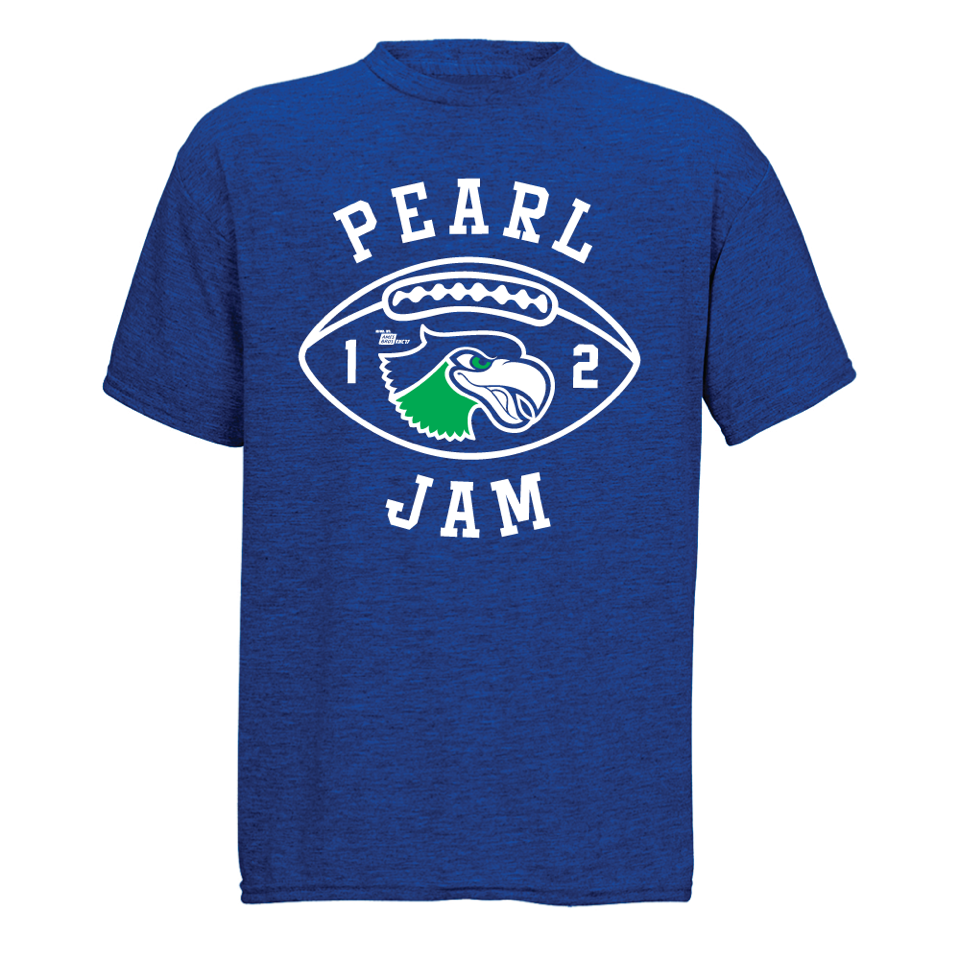 "Pearl Jam ""Seahawks 12"" 2017 Youth T-Shirt"