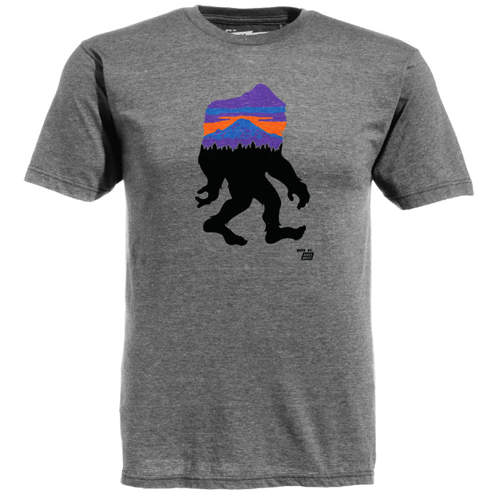 Mens Graphic T-Shirt - Bigfoot Grey