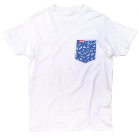 Ames Bros Open for Biz Pocket Tee
