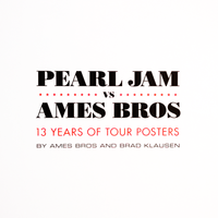 Pearl Jam vs Ames Bros Book (Hardback)