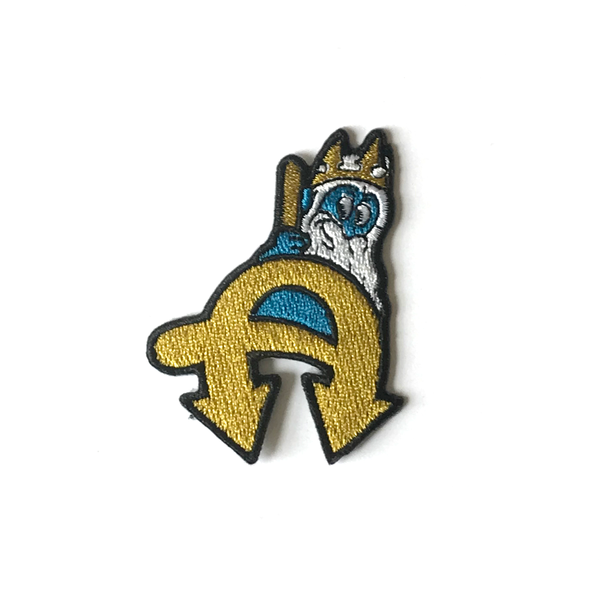 Neptune Embroidered Patch