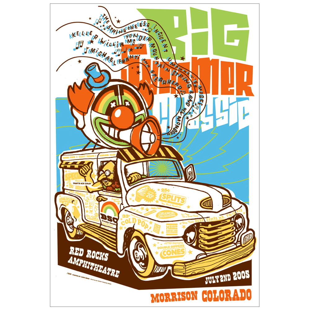 Big Summer Classic 2005 Morrison, CO I Festival Poster