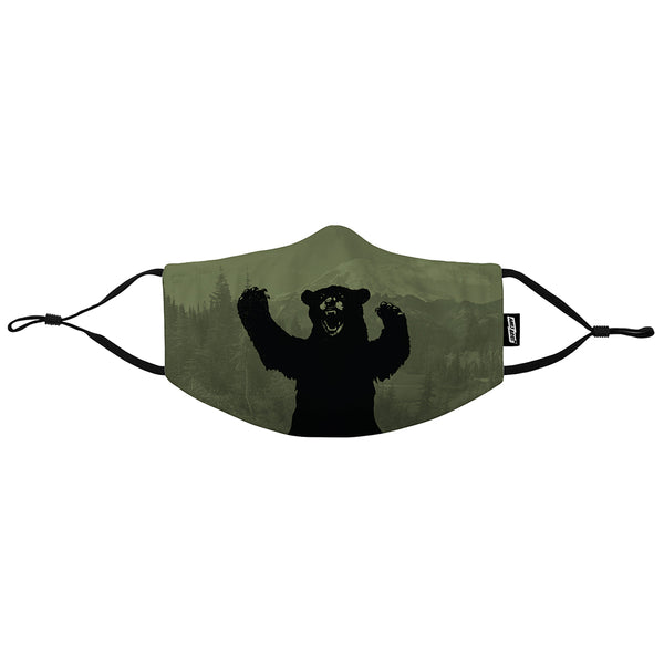 Big Bear NW Graphic 3-Layer Mask