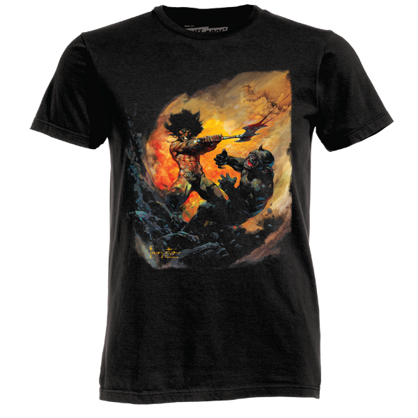 Frazetta by Ames Bros Barbaric Executioner T-Shirt