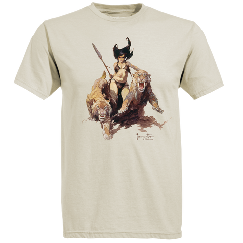 Frazetta by Ames Bros The Huntress T-Shirt