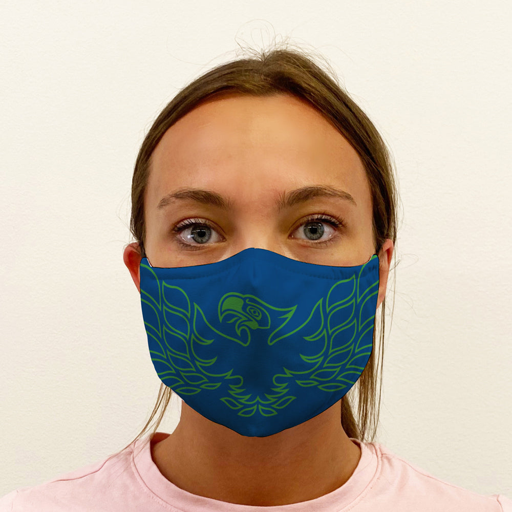 Firehawk Graphic 3-Layer Mask