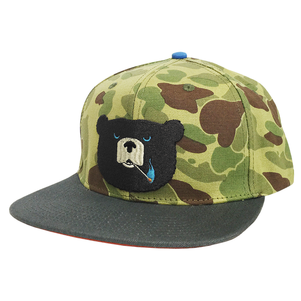 Ames Bros Hideout Canvas Snapback Hat