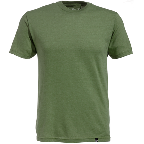 Basic Military Green Heather T-Shirt